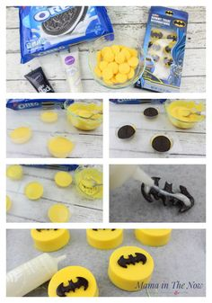 Make The Most Awesome LEGO Batman Oreos how to make LEGO® Batman oreos. Decorations and snacks for a birthday party - easy and simple.how to make LEGO® Batman oreos. Decorations and snacks for a birthday party - easy and Make The Most Awesome LEGO Batman Birthday Party Snacks, Superhero Birthday Party, Snacks Für Party, Birthday Cupcakes, Boy Birthday Parties, Birthday Party Decorations, Lego Parties, Birthday Ideas, Super Hero Party Snacks