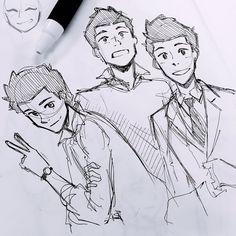 Pencil Drawings Of Love, Cute Drawings, Cute Art Styles, Cartoon Art Styles, Art Inspiration Drawing, Character Design Inspiration, Spiderman Kunst, Cartoon Kunst, Marvel Drawings
