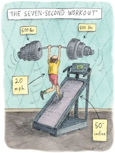 The Seven-Second Workout by Roz Chast - The New Yorker