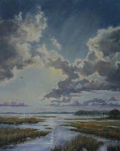 Glory by Paula B. Holtzclaw Oil ~ 30 x 24