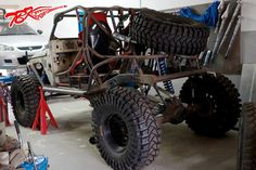Done with the suspension part, now on to engine and covering up the buggy  http://www.4x4back2nature.com