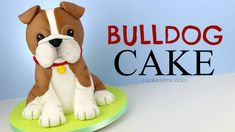 Bulldog Cake Tutorial Meet Biff The Bulldog! 😊🐶 FREE step-by-step video tutorial for this cak Pug Cake, Bulldog Cake, 3d Cake Tutorial, Fondant Figures Tutorial, Fondant Dog, Fondant Cakes, Fondant Icing, Cake Structure, Dog Cake Topper