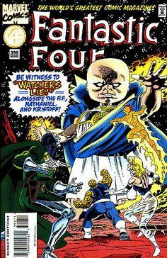 Fantastic Four # 398 by Paul Ryan & Danny Bulanadi