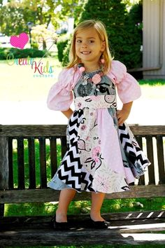 Download Violette's Swirly Peasant Dress Sewing Pattern | Featured Downloadable Sewing Patterns | YouCanMakeThis.com