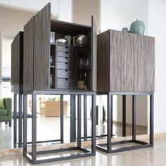 Fashion satisfies organization with these luxury cabinets and bookcases. See more luxury furniture design. Design Furniture, Cabinet Furniture, New Furniture, Luxury Furniture, Console Design, Cabinet Design, Contemporary Bedroom, Contemporary Furniture, Modern Cabinets