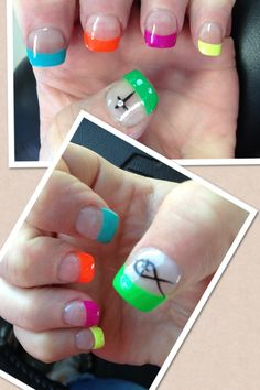 Check out the cute, quirky, and incredibly unique nail designs that are inspiring the hottest nail art trends of the season! Colorful Nail Designs, Gel Nail Designs, Hot Nails, Hair And Nails, Local Nail Salons, Claw Nails, Best Nail Polish, How To Do Nails, Summer Nails