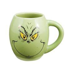 Doctor Seuss The Grinch 18-Ounce Oval Ceramic Mug