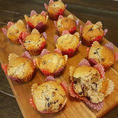 20 Second Choc Chip Chia Muffins – Twins And A Blog