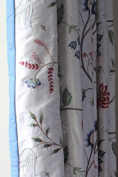 Dress tall traditional Georgian style windows with interlined curtains.  The interlining gives the curtains body and also provides that all important insulation against cold winter drafts. #curtainmaker #edinbugh #curtains