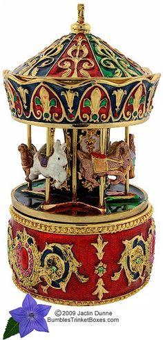 Trinket Box: Carousel Music Box