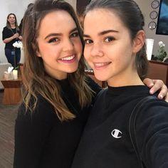 Bailee Madison & Maia Mitchell