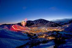 Christmas Fireworks & Torchlight Parade | Sun Valley, Idaho