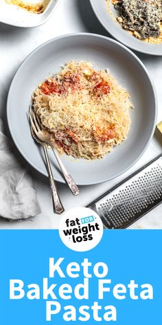Even if you don't have TikTok, you're going to love how easy this keto baked feta pasta is to make. It's zesty, creamy, and takes less than 30 minutes to make (all in one dish). With 4g net carbs, it's a simple dinner that the whole family can enjoy too. Sugar Free Recipes, Low Carb Recipes, Easy Recipes, Tomato Dishes, Feta Pasta, Ketogenic Recipes, Ketogenic Diet, Keto Diet For Beginners, Low Carb Keto