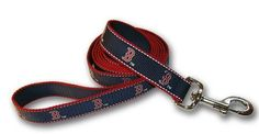 Sporty K9 Boston Red Sox Reflective Dog Leash *** Want additional info? Click on the image.