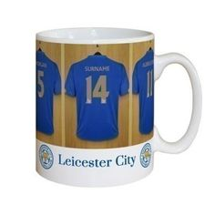 Personalised Leicester City Dressing Room Mug #LeicesterCity #Football #FootballGifts £10.99