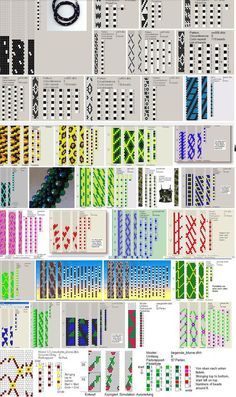 sets-keep scrolling passed the blank area.Several sets-keep scrolling passed the blank area. Bead Crochet Patterns, Bead Crochet Rope, Seed Bead Patterns, Jewelry Patterns, Bracelet Patterns, Beading Patterns, Beaded Crochet, Crochet Necklace, Ideas Joyería