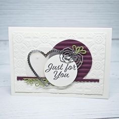 Nothing says I love you more than hearts! Our member Narelle Farrugia shares how to use the Meant To Be… Say I Love You, Love You More Than, Just For You, Handmade Greetings, Greeting Cards Handmade, Baby Wedding, Get Well Cards, Valentine Day Cards, Valentines