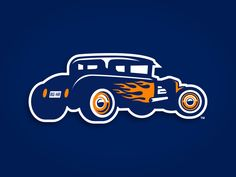 Bowling Green Hot Rods by Torch Creative - Dribbble
