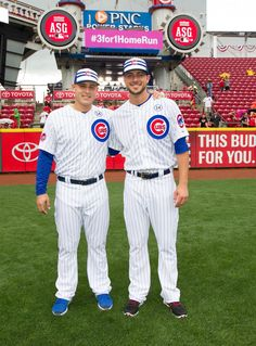 Anthony Rizzo & Kris Bryant, 2015 Chicago Cubs All-Stars