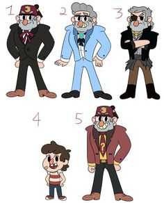 Hey, here I am back again with these AU design sheets! And I'm honestly pretty proud of how Stan's turned out here. Gravity Falls Au, Deviantart, Google Search, Anime, Design, Cartoon Movies, Anime Music, Animation
