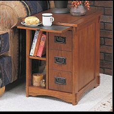 End table with storage