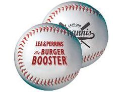 Synthetic Leather, Regulation Size Baseballs (not mini baseballs) with Rubber or Cork Core - MiniSportsBalls.com  Baby shower gift/guest sign in