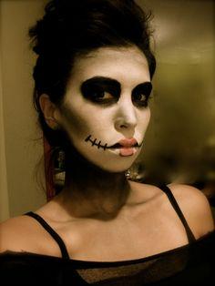 1000+ images about dia de los muertos on Pinterest Dia - Simple Skeleton Halloween Makeup