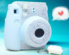 Amazon.com: Diamond Camera Sticker for Fujifilm Instax mini 8 - Silver: Camera & Photo