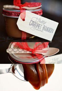 Salty Caramel-Bourbon Sauce