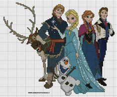 Frozen characters pattern