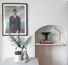 If your landlord is reluctant to let you paint the walls, another fix is artwork. It doesn't have to be expensive either, Dean and I have a penchant for picking up posters and postcards at art galleries and exhibitions we visit.