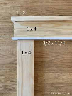 How to Create Craftsman-Style Door Trim - List in Progress Craftsman Window Trim, Craftsman Style Doors, Interior Window Trim, Craftsman Interior Doors, Craftsman Style Interiors, Diy Interior Doors, Craftsman Garage Door, Craftsman Houses, Garage Door Trim