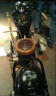 Wow!!! One BadAss Bike .(* Jack Daniels *)