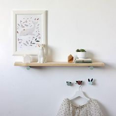 Loop kids designs - wall hooks + peg shelves