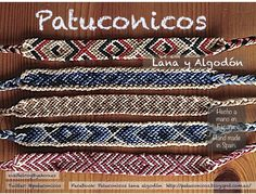 FriendShip bracelets patuconicos hand Made in Spain