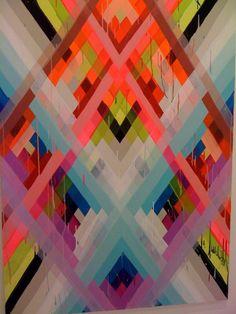 Maya Hayuk, color is amazing
