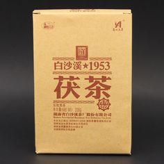 Anhua Baishaxi 1953 Fu Brique de thé Camellia Thé Golden Flower, Flower Tea, Paper Shopping Bag, Dark, Flowers, Camellia, Health Care, October, Skin Care