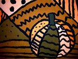 Artsonia Art Exhibit :: Monochromatic Pumpkins (5th)