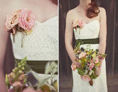 Bridal Flower Brooch