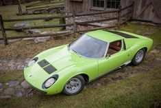 When it comes to '60s supercars, you'll be hard pressed to find something more iconic than the 1969 Lamborghini Miura P400S 'SV Specification'...