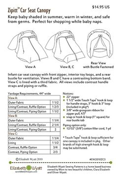 Baby Car Seat Sewing Patterns | ... drive buda of infant car seat cover determining the type of infant car