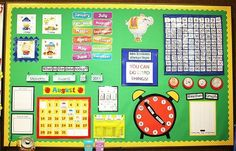calendar bulletin board by tommie