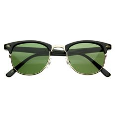 5f7a9deea0 Vintage Half Frame Classic Optical RX Sunglasses 2947
