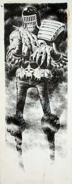 Judge Death by Brian Bolland