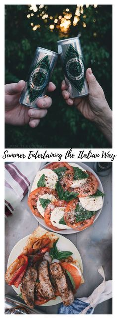 The Rise Of Private Label Brands In The Retail Meals Current Market Summer Entertaining the Italian Way - Living The Gourmet Entree Recipes, Steak Recipes, Easy Dinner Recipes, Summer Recipes, Appetizer Recipes, New Recipes, Easy Meals, Cooking Recipes, Favorite Recipes