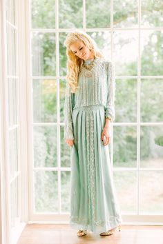 Beautiful mint gown