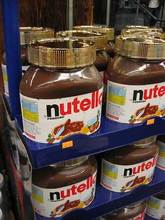 another big jar of nutella. $39.95 each.