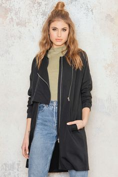 Trench Bomber Jacket