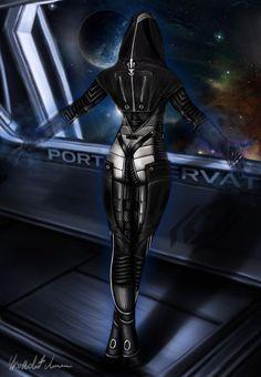 Mass Effect 2 - Kasumi Goto by punisher357 on DeviantArt