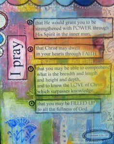 Paul perfect prayer: http://www.knowing-jesus.com/paul-perfect-prayer/